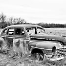 Old Dodge B&W by Mindy McGregor
