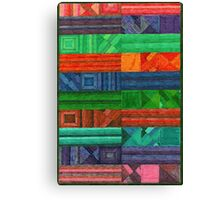 Abstract Art Study - Rug Canvas Print