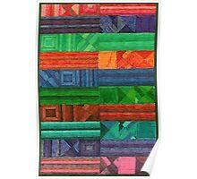 Abstract Art Study - Rug Poster