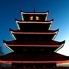 Pagoda by Night by Lisa Brower