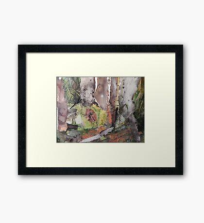 Coastal Bush Framed Print