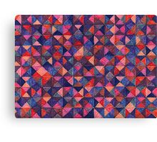 Abstract Art Study - Shades of Purple Canvas Print