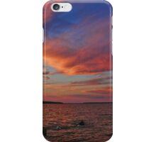 Hecla Island Sunset iPhone Case/Skin