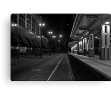Metro Rail Canvas Print