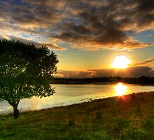 Erne Sunset by doublevision