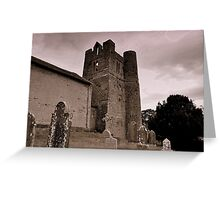Balrothery Tower. Greeting Card