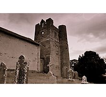 Balrothery Tower. Photographic Print