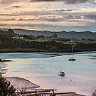 Twilite over Sandspit by Roger Neal
