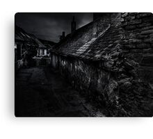 Darkness Conceals Many Faults, But Some Cracks Are Too Deep To Hide Canvas Print
