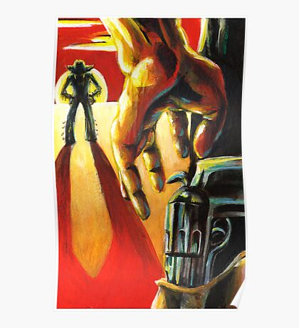 Pulp Cowboys - Pistols at dawn in a dust storm Poster
