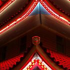 The Pagoda by Night, IV by Lisa Brower