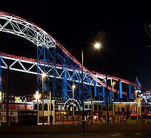 Blackpool Pleasure Beach by Christopher James Green