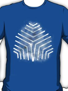 Graphic Nebula Blue T-Shirt