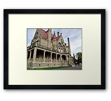 Craigdarroch Castle Framed Print