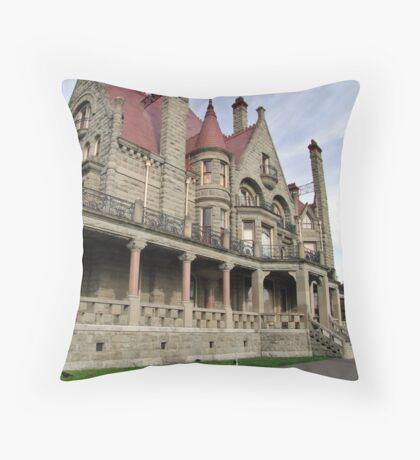 Craigdarroch Castle Throw Pillow