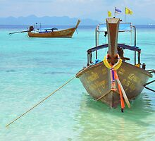 Thailand Island - Tales from the Andaman Sea 4 by Pete Klimek