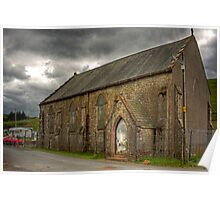 Wanlockhead Miners' Church Poster
