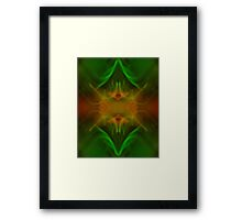 Experiments with Light 8 Framed Print