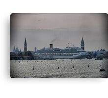 Leaving Venice Canvas Print