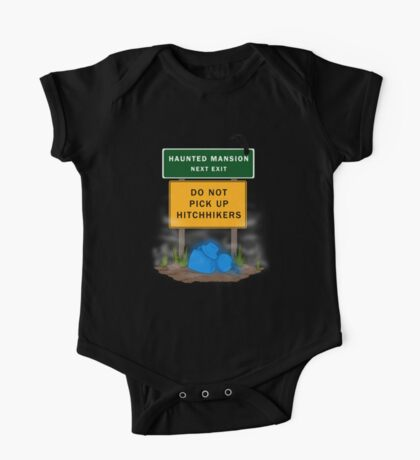 Beware of Hitchhiking Ghosts One Piece - Short Sleeve
