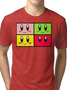 The Power Of 4 Kirbys Tri-blend T-Shirt
