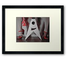 Rock doll 3 Framed Print