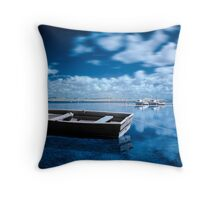 Parking Lots Throw Pillow