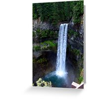 Brandywine Falls Greeting Card