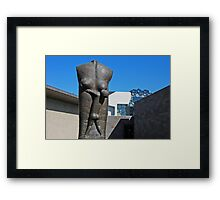 Lunchtime in the City of Melbourne, Framed Print