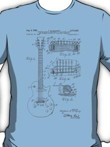 Les Paul  Guitar patent from 1955 T-Shirt