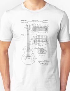 Guitar patent from 1955 Unisex T-Shirt