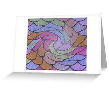Overlapping Circles Greeting Card