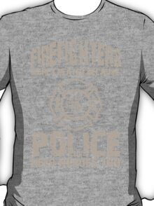 Firefighters Were Created Because Police Need Heroes Too - Custom Tshirt T-Shirt