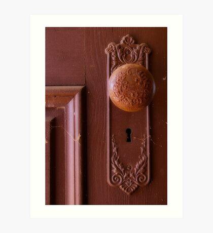Vintage Door Knob Art Print