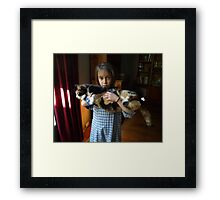 Katy is my friend Framed Print