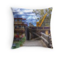 Captain Proud Throw Pillow