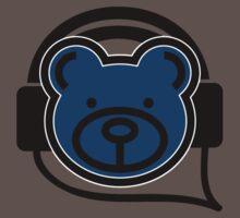 Grooving Bear (Blue) T-Shirt