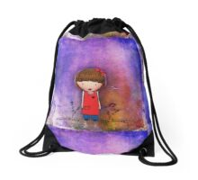 Peggy Primrose Drawstring Bag