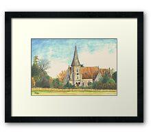 Lockerley Framed Print