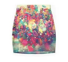 The Rainbow Cloud Mini Skirt