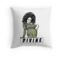 divine waters john female trouble Throw Pillow