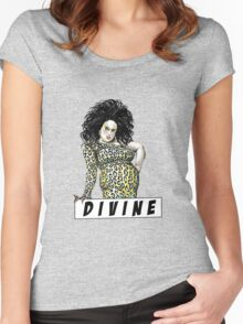 divine waters john female trouble Women's Fitted Scoop T-Shirt