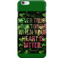 Bitter Heart iPhone Case/Skin