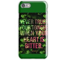 Bitter Heart iPhone Case/Skin