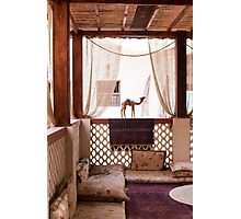 Middle Eastern traditional reception area Photographic Print