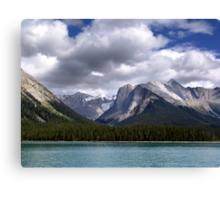 Mountains-Lake Maligne Canvas Print