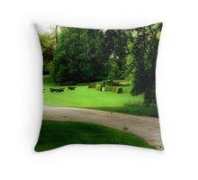 Tally Ho! Throw Pillow