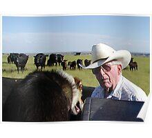 Eastern Montana Rancher Poster