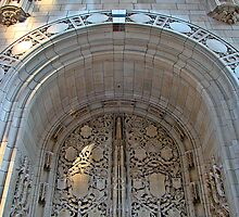 Chicago Tribune Entrance Arch by JCBimages