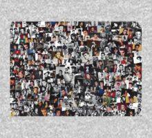 Elvis presley collage One Piece - Long Sleeve